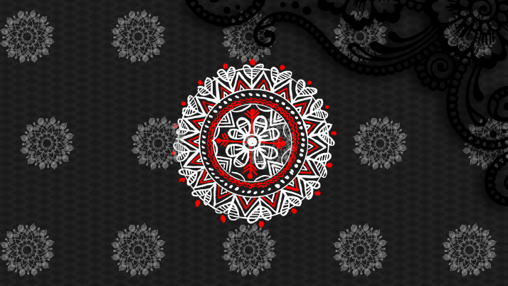 boishakh Alpona design pohela wallpapers and stock photos