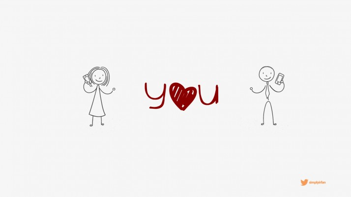 Love You Wallpaper de Irfan wallpapers and stock photos