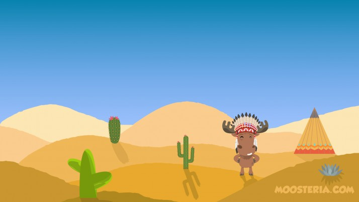 Moose at the Desert wallpapers and stock photos