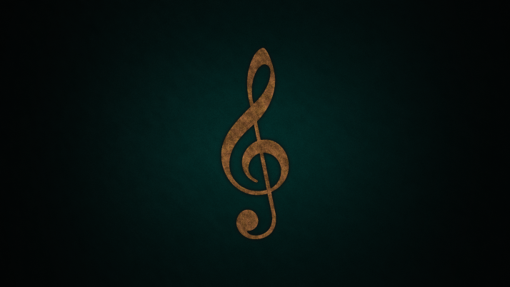 Treble Clef wallpapers and stock photos