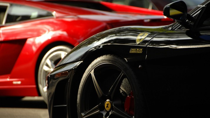 Ferrari Scuderia Spider 16M, cars wallpapers and stock photos