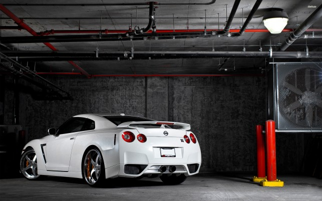 Nissan GT-R, Autos wallpapers and stock photos