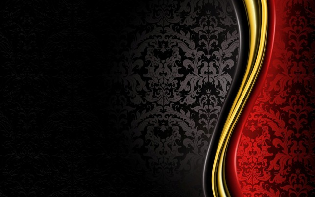 Random: Black and Red Wallpaper