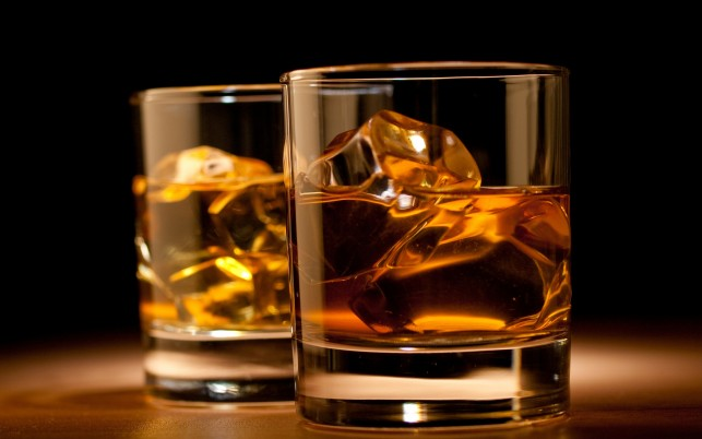 Whiskey Drink Glasses Alcohol wallpapers and stock photos