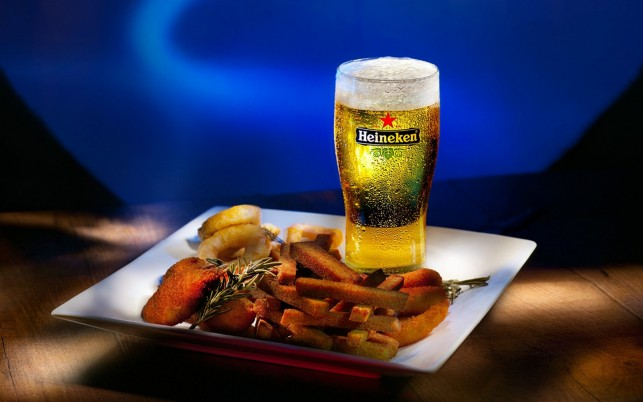 Heineken Beer Snacks wallpapers and stock photos