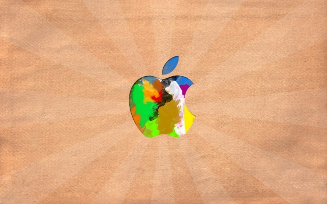 Random: Apple logo, mac, macintosh