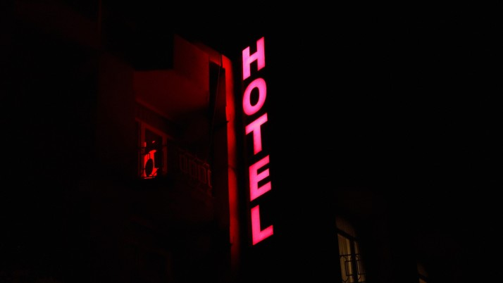 Hotel Signboard Light wallpapers and stock photos