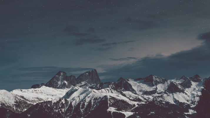 Mountains Peaks Snow wallpapers and stock photos