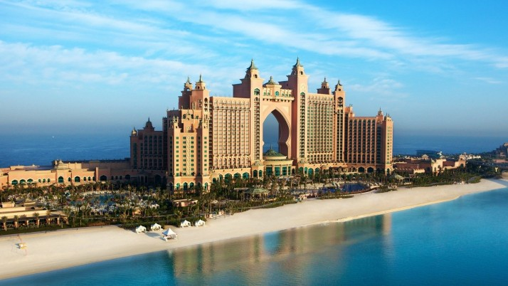 Dubai UAE Hotel Atlantic wallpapers and stock photos