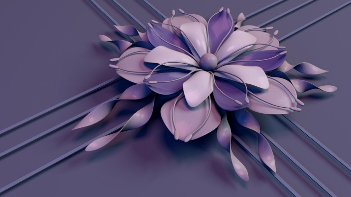 Flower Rendering Petals wallpapers and stock photos