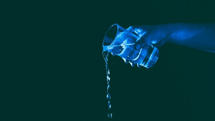 Glass Hand Water Lighting wallpapers and stock photos