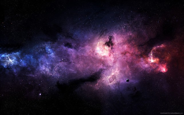 Galaxy, space wallpapers and stock photos