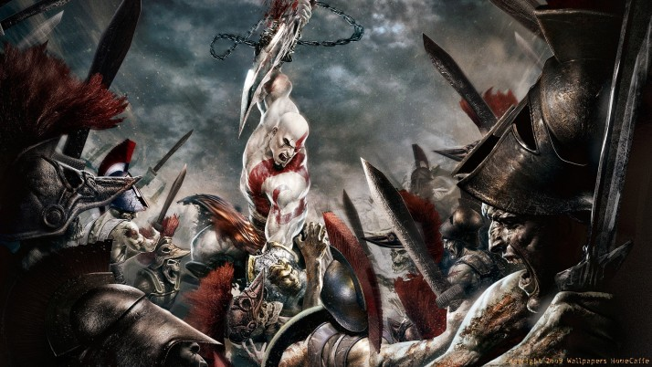 God Of War, games wallpapers and stock photos