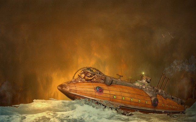 Steam Punk, vista wallpapers and stock photos