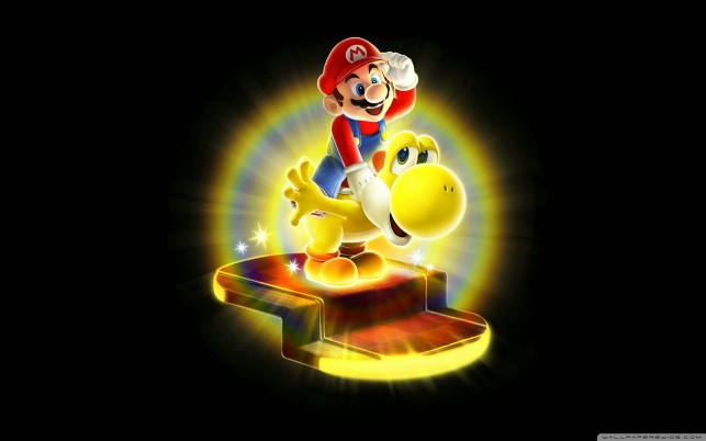 Super Mario Galaxy 2, games wallpapers and stock photos