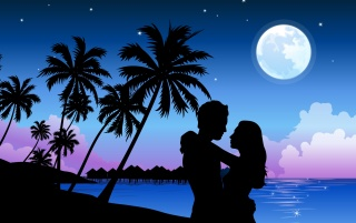 Romantic Paradise wallpapers and stock photos
