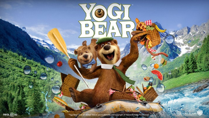 Yogi Bear, movie wallpapers and stock photos