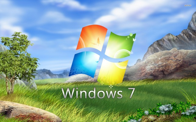 Windows 7, microsoft wallpapers and stock photos