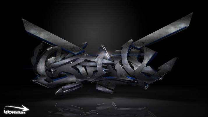 3D Graffiti wallpapers and stock photos