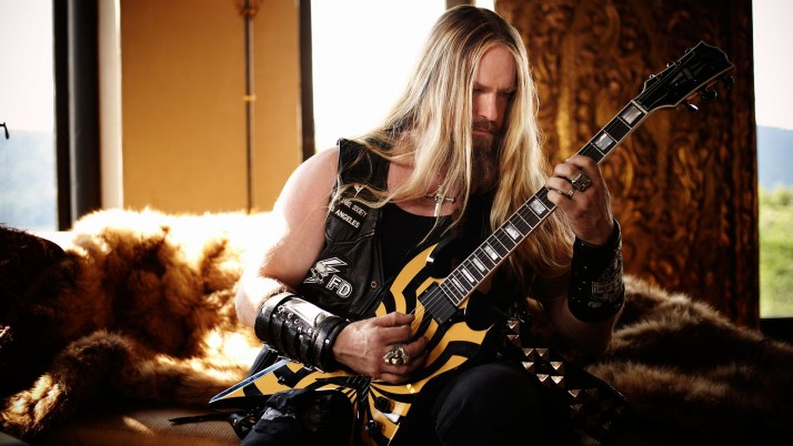 Zakk Wylde 2013, windows, guitar, room wallpapers and stock photos