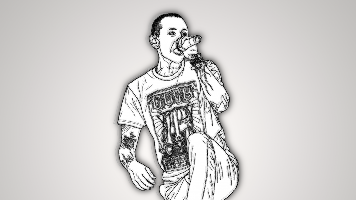 Chester Bennington-Linkin Park wallpapers and stock photos