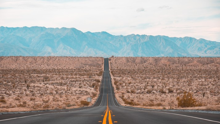road, marking, mountains wallpapers and stock photos