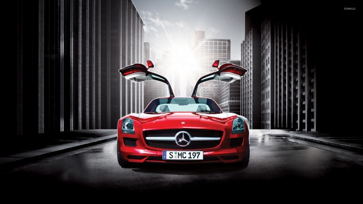 Mercedes-Benz SLS AMG, Autos wallpapers and stock photos