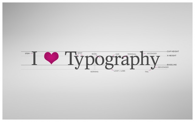 Love Typography wallpapers and stock photos