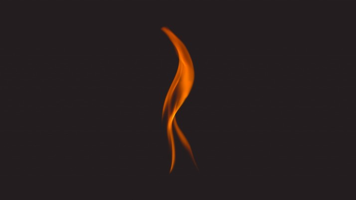 Feuer, Flamme, dunkler Hintergrund wallpapers and stock photos