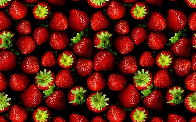 Strawberries, artistic wallpapers and stock photos