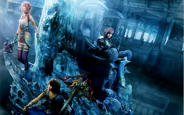 Final Fantasy XIIi 2 wallpapers and stock photos