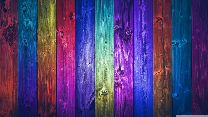 Wood  windows, colorful wallpapers and stock photos