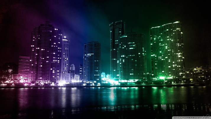 City Lights wallpapers and stock photos