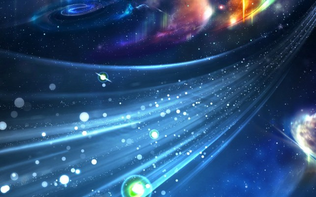Space travel, universe, lights wallpapers and stock photos