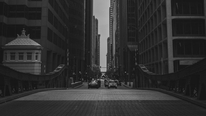 buildings, city, bw wallpapers and stock photos
