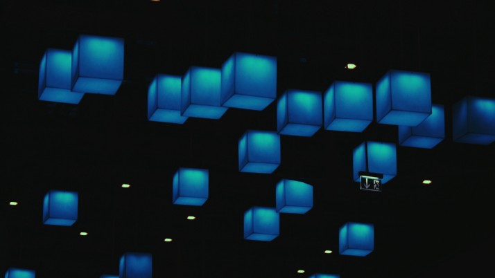 cubes, blue, shapes wallpapers and stock photos