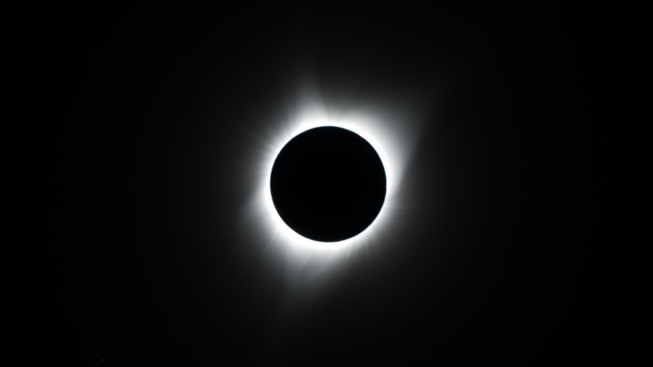 eclipse, moon, night, circle wallpapers and stock photos