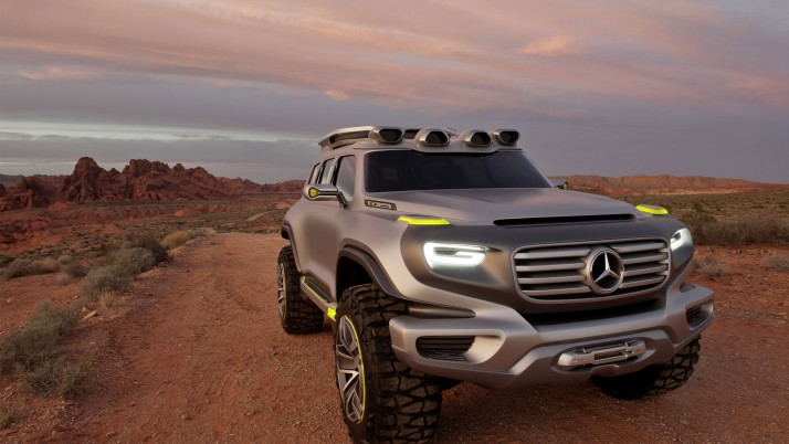 Mercedes Ener G Force, mercedes benz, concepto wallpapers and stock photos