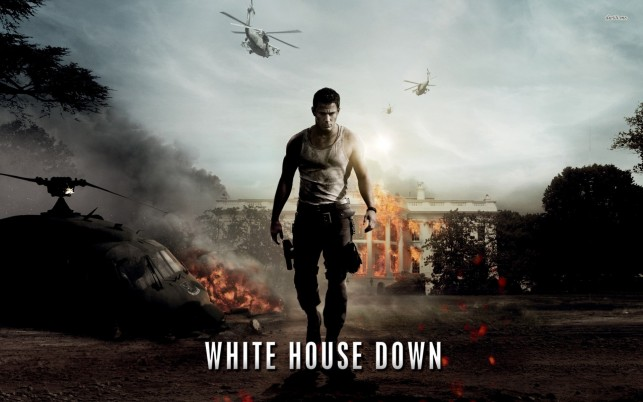White House Down, movies wallpapers and stock photos