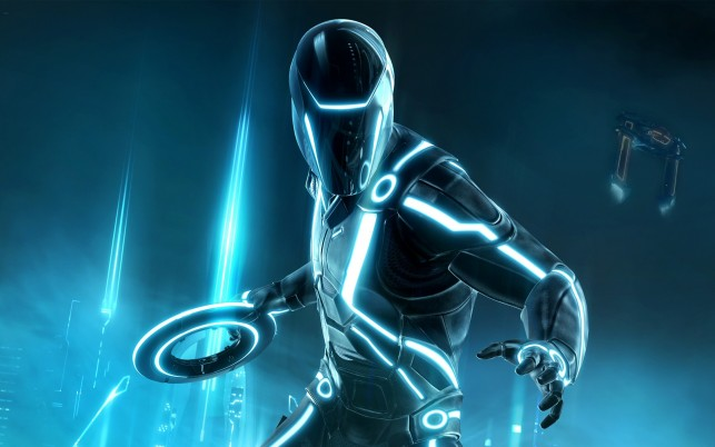 Tron evolution wallpapers and stock photos