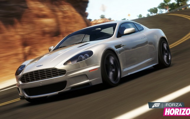 Forza Horizon Aston Martin Dbs wallpapers and stock photos