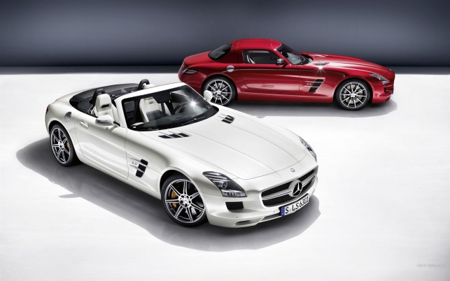 Mercedes Benz Sls Amg Roadster, mercedes-benz sls amg, cars wallpapers and stock photos