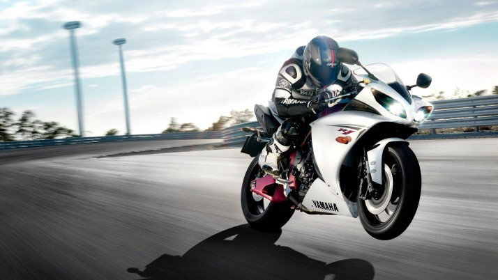 Yamaha R1 2011, Motorräder wallpapers and stock photos