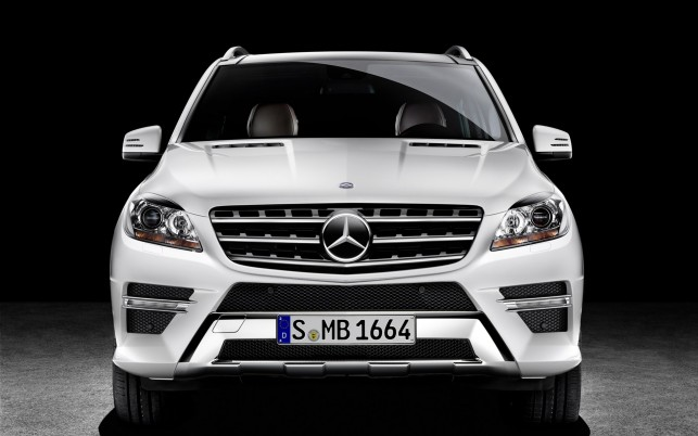 Mercedes M Class 2012, mercedes benz wallpapers and stock photos