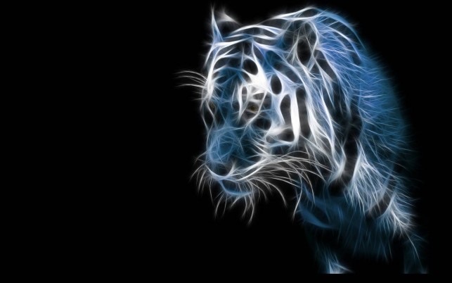 Tiger, digital-art wallpapers and stock photos