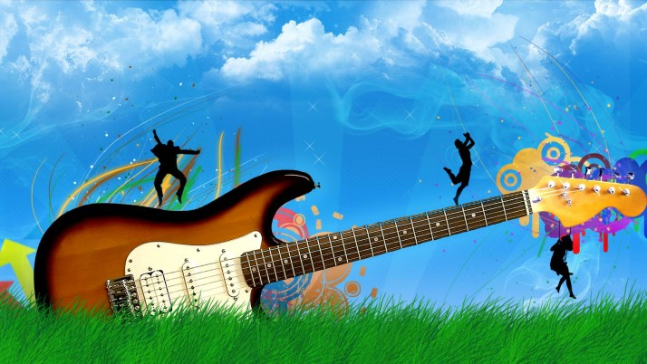 Guitar For wallpapers and stock photos