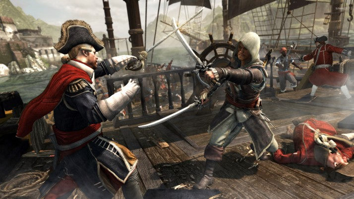 Assassin's Creed IV: Black Flag, games wallpapers and stock photos