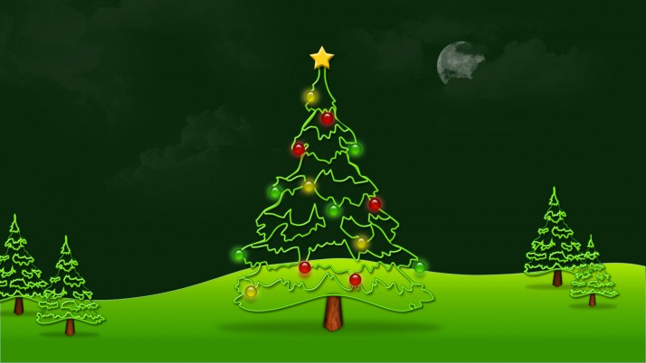 Christmas Tree, holiday wallpapers and stock photos