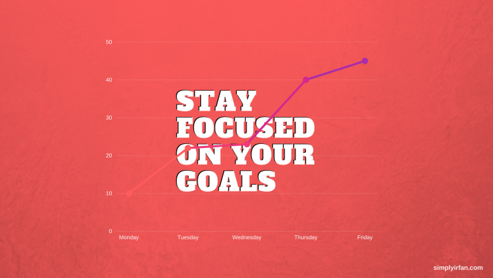 Stay Focused on Your Goals wallpapers and stock photos