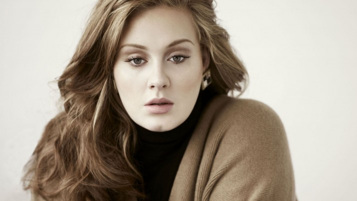 adele, girl, hair, face, look wallpapers and stock photos